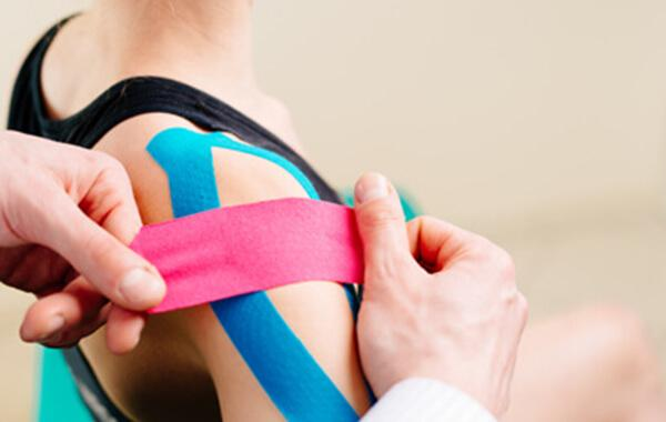 Kinesio Taping at GTA Healer